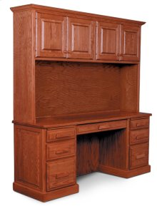 Classic 4-Door Hutch Top, Classic Hutch Top for Credenza, 63 1/2""