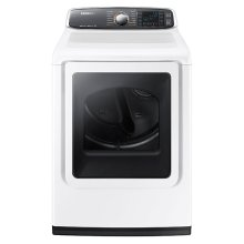 DV8060 7.4 cu. ft. Large Capacity Gas Dryer (White)