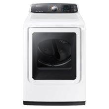 DV8060 7.4 cu. ft. Large Capacity Gas Dryer (White)