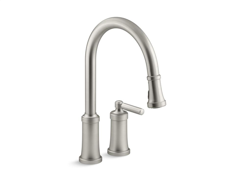 Pull-Down Kitchen Faucet - Brushed Nickel