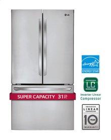 31 cu. ft. Super Capacity 3-Door French Door Refrigerator