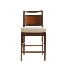 Mulholland Counter Stool - Pecan