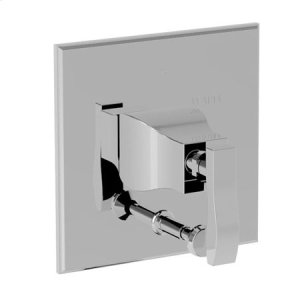French Gold - PVD Balanced Pressure Tub & Shower Diverter Plate with Handle. Less Showerhead, arm and flange.