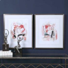 Soft Speak Framed Prints, S/2