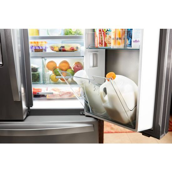 Whirlpool® 36 Inch Wide French Door Within Door Refrigerator With Cold Space