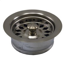 Brushed Nickel Disposal Assembly Fits In-Sink-Erator