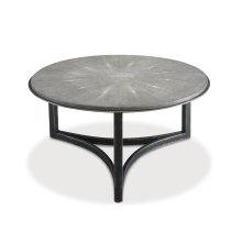 368-831 Niko Cocktail Table - Shagreen