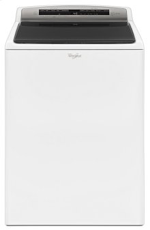 4.8 cu.ft HE Top Load Washer with Built-In Water Faucet, Intuitive Touch Controls [FLOOR MODEL]