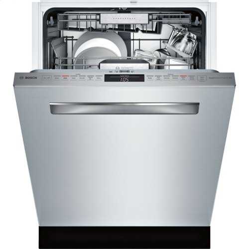 Benchmark® built-under dishwasher 24'' Stainless steel SHP87PW55N