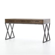 Sampson Desk-light Grey Oak