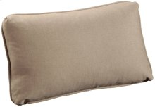 "Throw Pillows Knife Edge Kidney w/welt (14"" x 23"")"