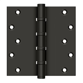 """6"""" X 6"""" Square Hinges, Ball Bearings - Oil-rubbed Bronze"""