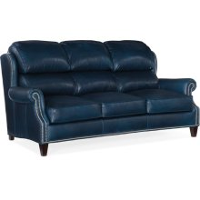 Bradington Young Taylor Stationary Sofa 8-Way Hand Tie 514-95