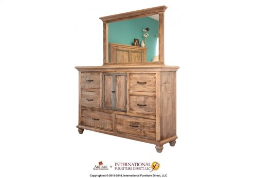 2 Doors, 3 Drawers Chest