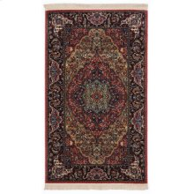 Medallion Kirman Multi Rectangle 2ft 6in X 4ft 3in