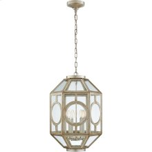 Visual Comfort NW5100BSL Niermann Weeks Chatsworth 6 Light 16 inch Burnished Silver Leaf Foyer Lantern Ceiling Light, Niermann Weeks, Lantern
