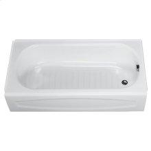 New Salem 60x30 inch Integral Apron Bathtub - White