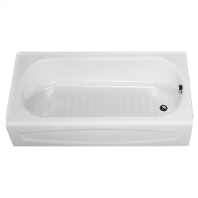 New Salem 60x30 inch Integral Apron Bathtub - White