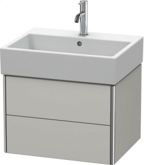 Vanity Unit Wall-mounted, Concrete Gray Matt Decor