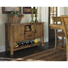 Dining Room Server Krinden - Light Brown Collection Ashley at Aztec Distribution Center Houston Texas