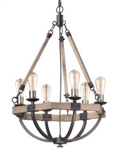 Lodge 6-Light Chandelier
