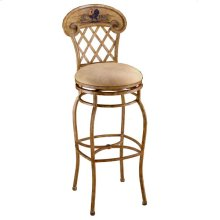 Rooster Swivel Counter Stool
