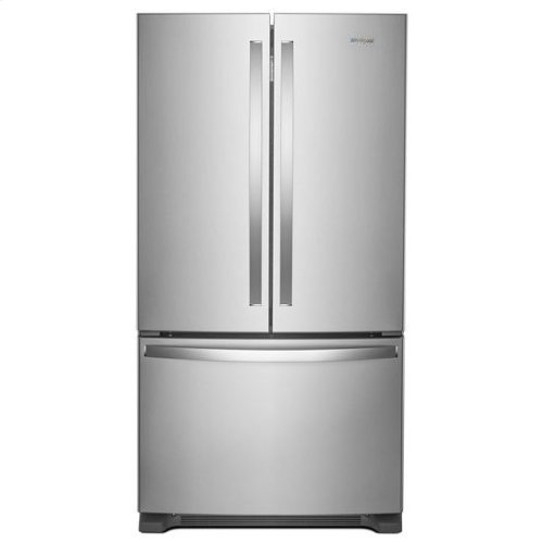 Whirlpool® 36-inch Wide Counter Depth French Door Refrigerator - 20 cu. ft. - Fingerprint Resistant Stainless Steel