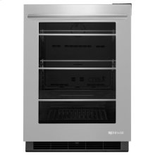 """Jenn-Air® 24"""" Under Counter Refrigerator, Euro-Style Stainless"""