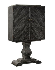 Black Manor House Cabinet Product Image