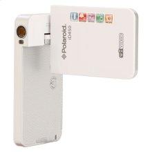 Polaroid Wifi Enhanced 16-Megapixel 1080p High Definition Pocket Ustream Digital Video Camcorder iD450, White