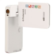Polaroid Wifi Enhanced 16-Megapixel 1080p High Definition Pocket Ustream Digital Video Camcorder iD450, White