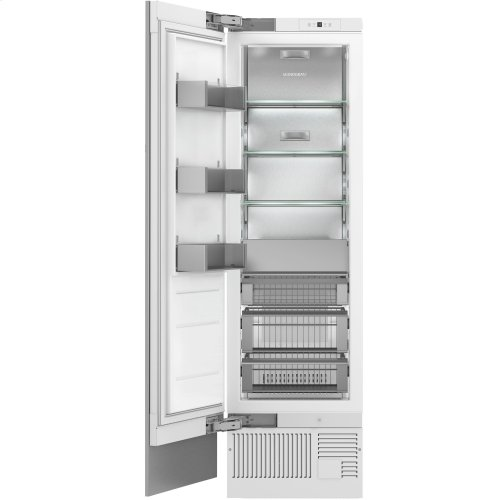 "Monogram 24"" Integrated Column Freezer"