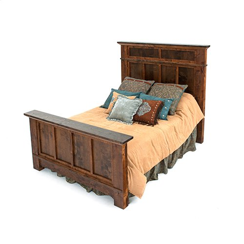 Glen Falls - Panel Bed - California King Bed (complete)