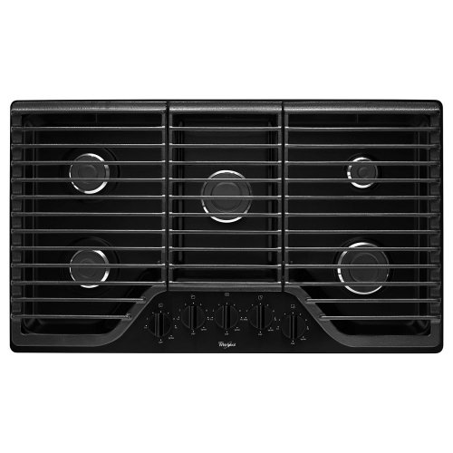 36 Inch 5 Burner Gas Cooktop With Fifth