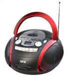 Portable Am/fm Stereo Radio With Cd/mp3/usb/cassette/bluetooth Player Product Image