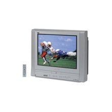 "27"" diagonal PureFlat Picture Tube TV/DVD Combination"