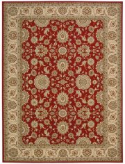 "PERSIAN CROWN PC002 RED RECTANGLE RUG Available in Sizes: 1'.11""X 2'.1"",   2'.2""X 7'.6"",  3'.9""X 5'.9"",  5'.3""X 7'.4"",  7'.8""X 10'.5"",  9'.3""X 12'.9"" Product Image"