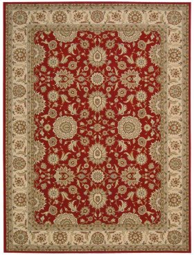 "PERSIAN CROWN PC002 RED RECTANGLE RUG Available in Sizes: 1'.11""X 2'.1"",   2'.2""X 7'.6"",  3'.9""X 5'.9"",  5'.3""X 7'.4"",  7'.8""X 10'.5"",  9'.3""X 12'.9"""
