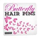 Butterfly Hair Pins Sign. Product Image