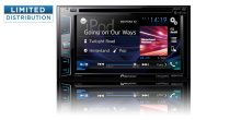 "Multimedia DVD Receiver with 6.2"" WVGA Display, MIXTRAX "", Built-in Bluetooth ® , HD Radio "" Tuner, SiriusXM-Ready "", and AppRadio One """