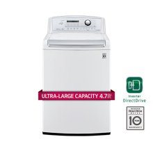 4.5 cu. ft. Ultra Large High Efficiency Top Load Washer w/ WaveForce