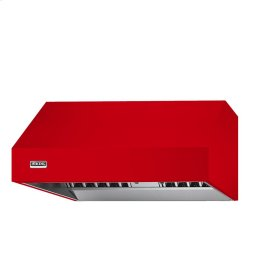 "Racing Red 42"" Wide 24"" Deep Wall Hood - VWH (24"" deep, 42"" wide)"