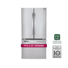 Ultra Capacity 3 Door French Door Refrigerator