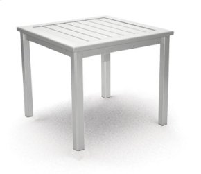 "17"" Side Table/Bench - Metal"