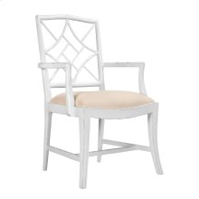 Evelyn Armchair, White