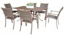 Island Cove 7 PC Slatted Dining Group