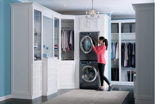 Scratch & Dent, Front Load Perfect Steam Washer with LuxCare® Wash and SmartBoost® - 4.4 Cu.Ft.