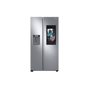 Samsung Appliances26.7 cu. ft. Large Capacity Side-by-Side Refrigerator with Touch Screen Family Hub™ in Stainless Steel