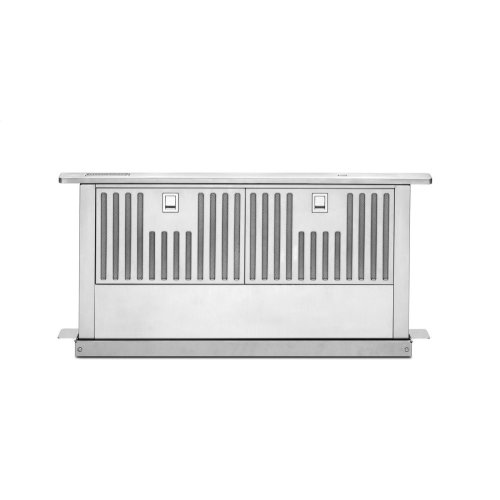 """30"""" Retractable Downdraft System, 600 CFM - Stainless Steel"""