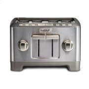 Four Slice Toaster - Brushed Stainless Knob Product Image